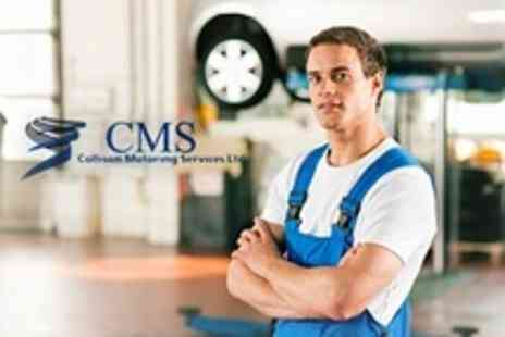 Collison Motoring Services - Full Car Valet and Health Check - Save 79%