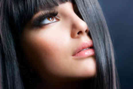 Beauty and Cut - Semi permanent hair straightening and a cut - Save 62%