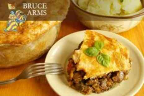 The Bruce Arms - Two Course Pub Meal For Two - Save 64%