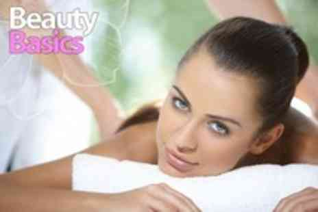 Beauty Basics - Swedish Massage With Indian Head Massage and Eve Taylor Facial For One - Save 70%