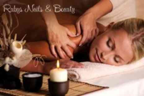 Rubys Nails & Beauty - One Hour Full Body Swedish Massage - Save 59%