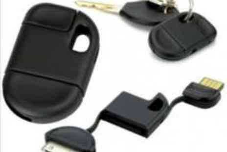 Gadget Volt - IPhone / iPod accessory with a keyring USB charger - Save 97%