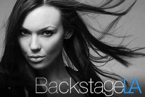 Backstage LA - Haircut plus Half Head of Highlights or Semi Permanent Colour with Conditioning Treatment - Save 71%