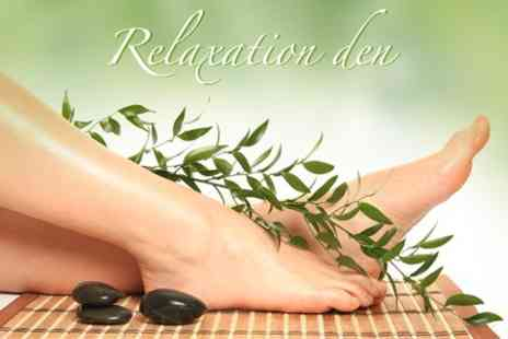 The Relaxation Den - Fish Foot Spa and Pedicure With Mini Massage Options - Save 67%