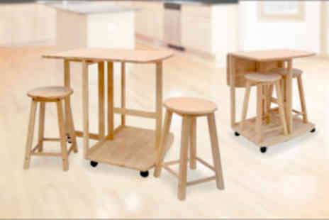Premier Housewares - A Real Wood Breakfast Dining Set  - Save 65%