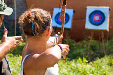 Nottingham Activity Centre - Traditional Longbow Archery Session for Two - Save 62%