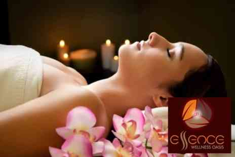Essence Wellness Oasis - Spa Day Including Full Body Massage, Afternoon Tea And Full Use of Leisure Facilities For Two - Save 72%