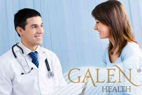 Galen Health - Health Assessment, Blood Profile and Three Month Private Harley Street Medical Membership - Save 70%
