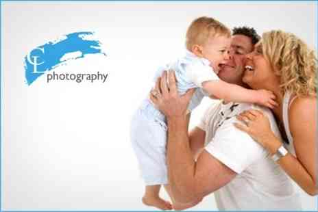 CL Photography - One Hour Photo Session, Canvas Print and Photo CD - Save 72%