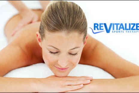 Revitalize - £10 for a one-hour full body massage and a 15-minute consultation worth £40 - Save 75%