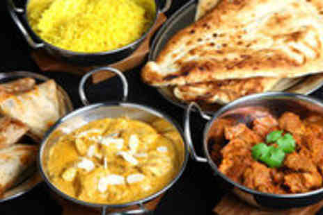 Revivals Indian Restaurant - Meal for 2 with Starters and Sides - Save 54%