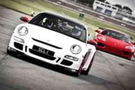 Supercar Lifestyle - Sports car driving experience with a nine-lap adrenaline-rush and try out three superc - Save 32%