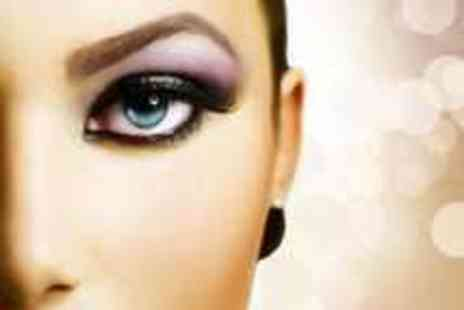 Harps Hair & Beauty Salon - Semi permanent makeup on 1 area at Harps Professional Beauty Salon choose eyeliner brows or lip liner - Save 60%