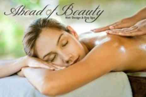 Ahead of Beauty - Three Treatments Such as Massage, Facial and Manicure - Save 65%