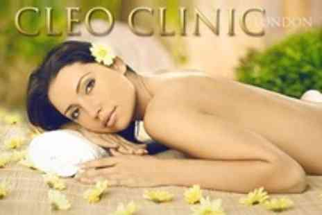 Cleo Clinic - One Hour Massage With Express Facial - Save 69%