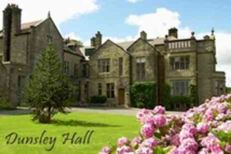 Dunsley Hall - In North Yorkshire Moors One Night Stay For Two With Breakfast Plus Tea and Cake - Save 26%