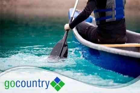 Go Country - Two Hour Canoe Hire and a Waterborne Hamster Ball Experience - Save 60%