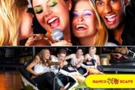 Namco Funscape - One Hour of Karaoke Plus Bumper Car Ride and Two Game Tokens Each For Up to Ten People - Save 75%