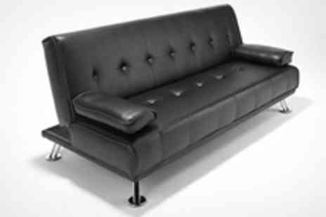 World of Sofa Beds - New Hampshire Sofa Bed in Black or Brown - Save 50%