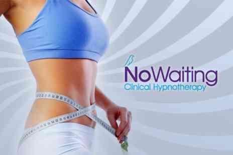 No Waiting - Three Gastric Band Hypnotherapy Sessions - Save 67%