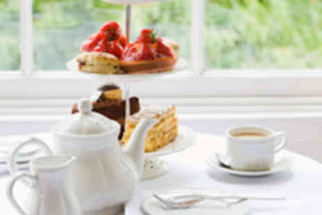 The Didsbury Kitchen- Afternoon Tea for Two with a Glass of Bubbly Each - Save 53%