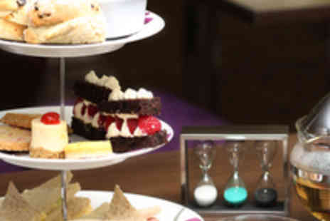 Quality Hotel - Afternoon Tea for Two with Bubbly - Save 53%