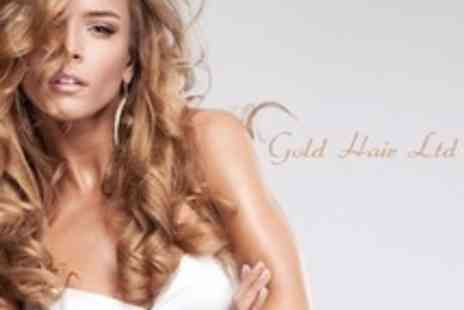 Gold Hair - Half Head Highlights or Full Head Colour With Cut and Conditioning Treatment - Save 20%