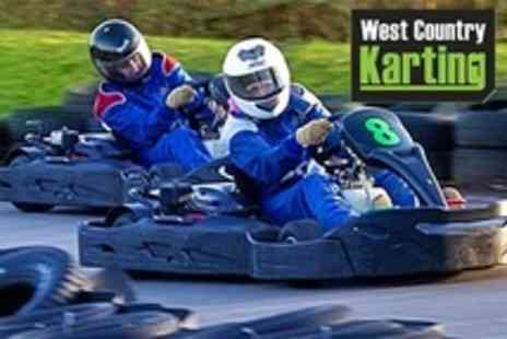 West Country Karting - 80 Laps For One - Save 70%