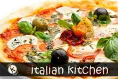 The Italian Kitchen - Pizza or Pasta For Two - Save 60%