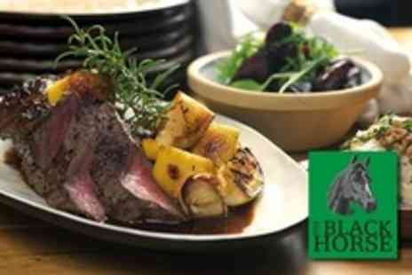 The Black Horse - Two Course Sunday Lunch For Two - Save 50%