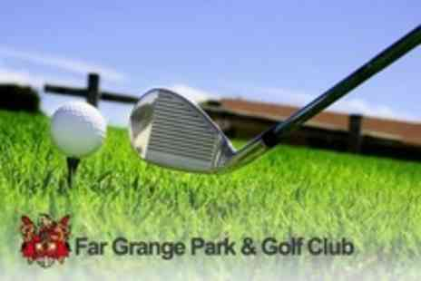 Far Grange Park & Golf Club - Day of Golf For Two Plus English Breakfast With Tea or Coffee - Save 68%