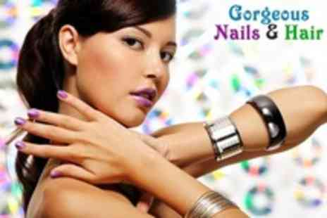 Gorgeous Nails - Manicure With Gel Polish - Save 66%