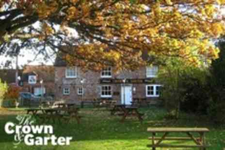 The Crown and Garter - In Hungerford One Night Stay For Two With Breakfast - Save 61%