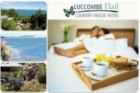 Luccombe Hall Country House Hotel - In Isle of Wight One Night Stay For Two With Breakfast - Save 63%