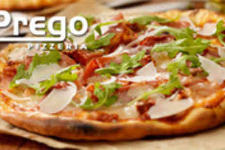 Prego Pizzeria - Italian Food and Wine for Two - Save 52%
