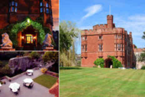 Ruthin Castle Hotel - Two night stay at the medieval 4 Ruthin Castle Hotel for two people including full Welsh breakfasts - Save 54%