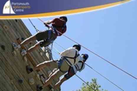Portsmouth Watersports Centre - Climbing and High Ropes Experience For One - Save 25%