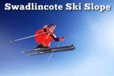 Swadlincote Ski Slope - Three Lessons For One - Save 55%