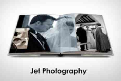 Jet Photography - Wedding Photography Package Canvas, Storybook Album, Mounted Picture and 200 Images on Disc - Save 69%