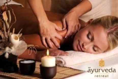 Ayurveda Retreat - Choice of One Hour Massage or Facial - Save 53%