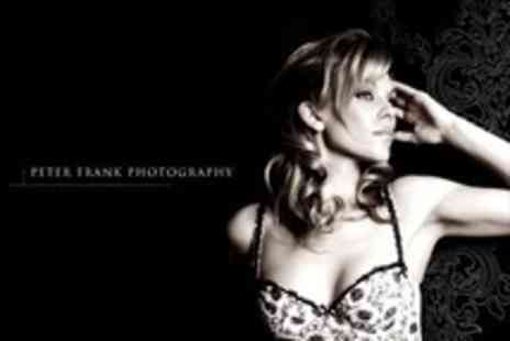 Peter Frank Photography - Boudoir Makeover Photoshoot With Seven Prints and Image CD - Save 95%