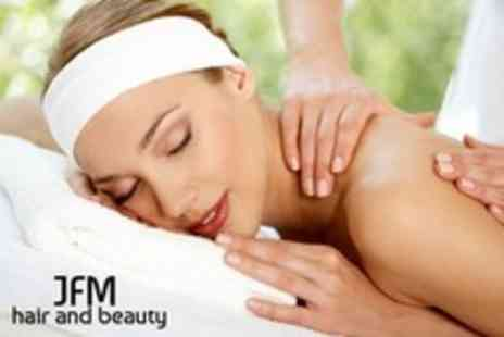 JFM Hair and Beauty - One Hour Full Body Massage - Save 18%