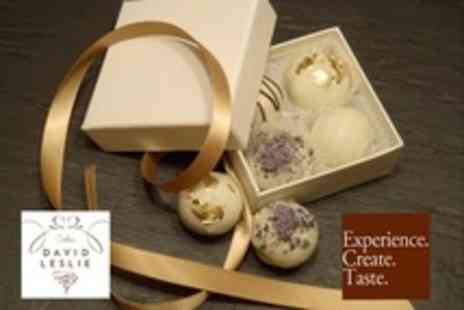 David Leslie - Chocolate Truffle Making Workshop For One - Save 59%