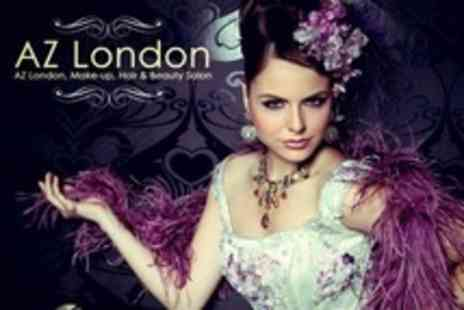AZ London - Accredited Four Day Professional Bridal Make Up Course - Save 15%