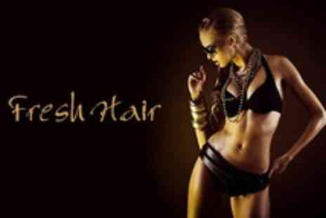 Fresh Hair - Three Sessions of Sienna X Spray Tan - Save 67%