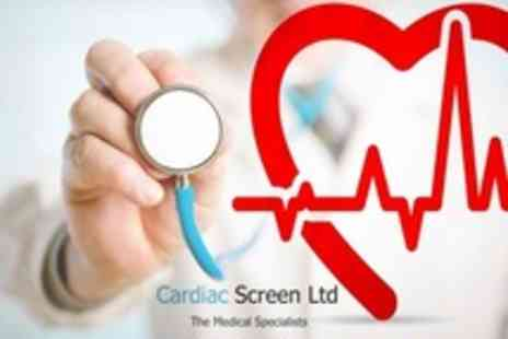 Cardiac Screen - Medical Assessment Cholesterol Test - Save 70%