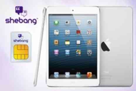 Shebang Network - SIM Card With 3GB of Data For Tablet or Laptop - Save 50%