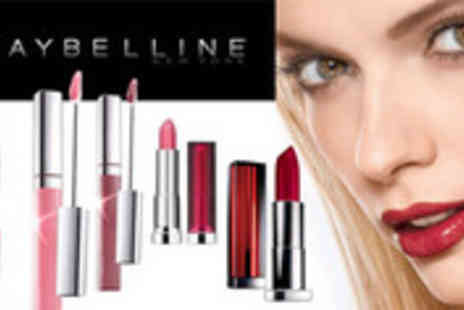 JustShe - 5 piece Maybelline lip set - Save 72%