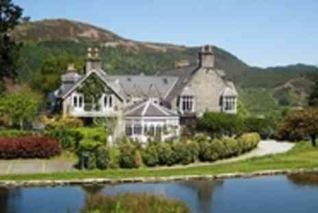 Penmaenuchaf Hall Hotel - Snowdonia Stay with Michelin Listed Dining & Upgrade - Save 50%