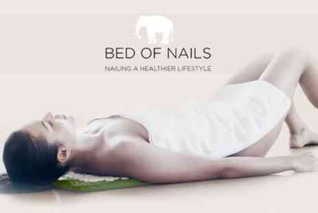 Bed of Nails - Acupressure Mat and Pillow - Save 64%